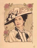 Lady Grantham, of Downton Abbey by AllisonSohn