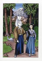 Usagi Yojimbo Original Art by AllisonSohn