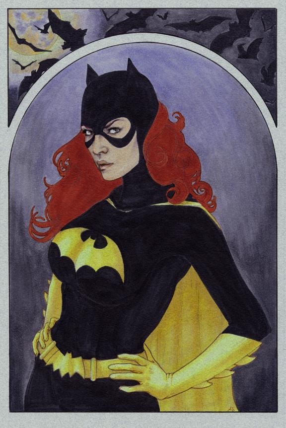 Batgirl by AllisonSohn