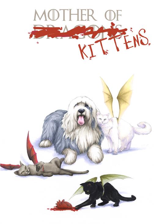 Mother of Kittens by AllisonSohn
