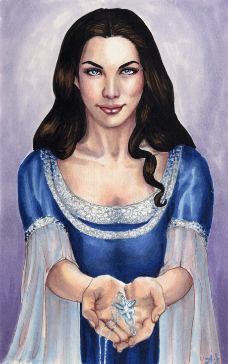 Arwen Evenstar commission by AllisonSohn