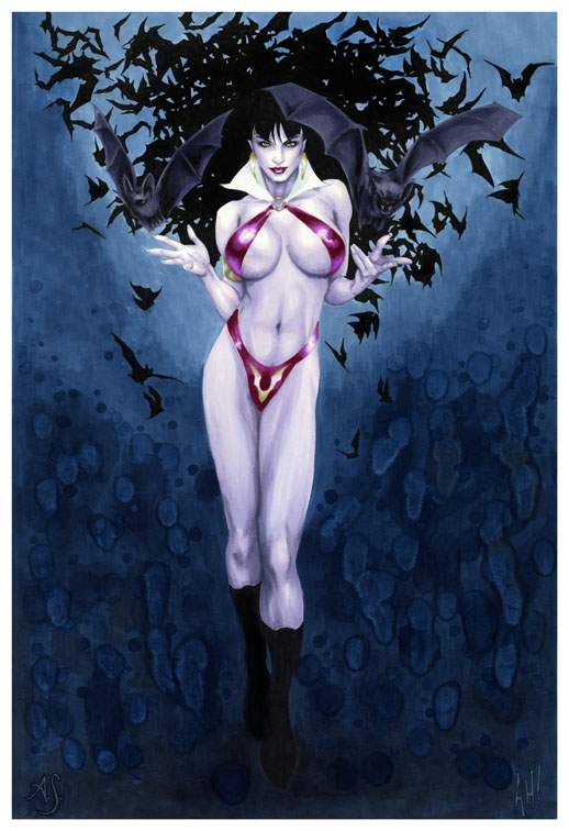 Vampirella Collaboration by AllisonSohn