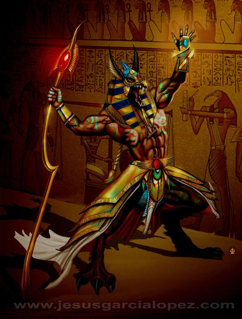 Anubis by Raro666 on DeviantArt