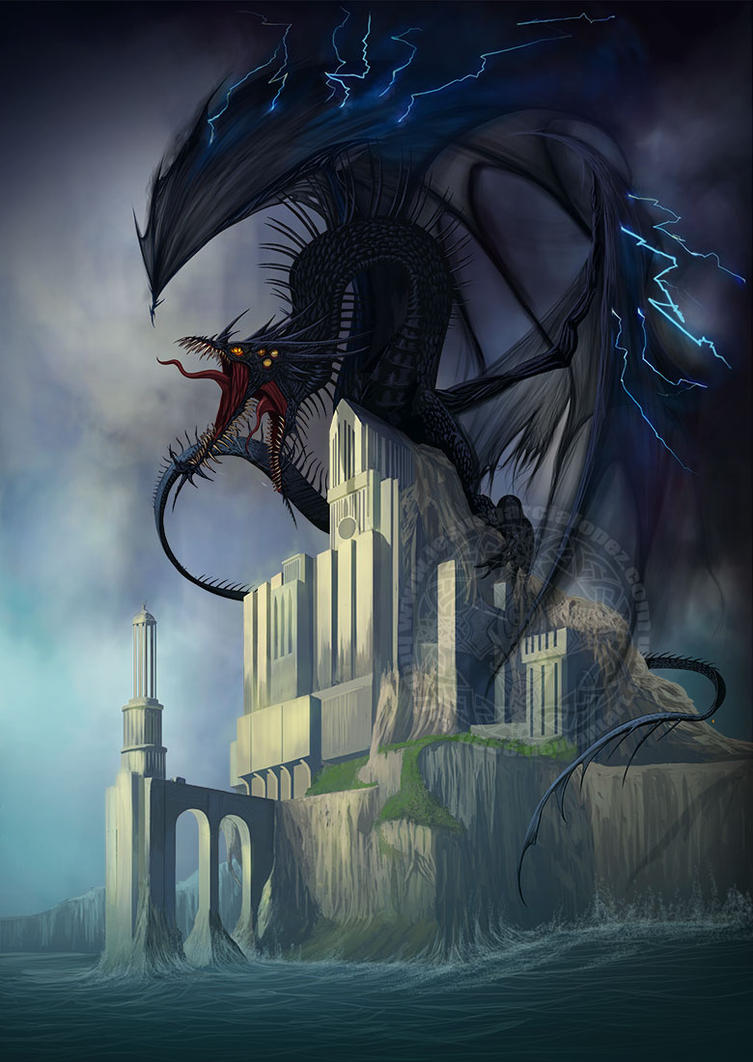 Dragon (Imaginaerum VII) by Raro666