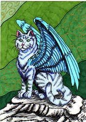 ATC Winged Blue by DRAGON-STARR