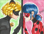 Distance Between Chat Noir and Ladybug