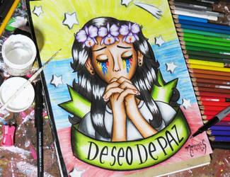 Deseo de Paz 2016 by MariAngel-Art