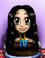 My 18th birthday! by MariAngel-Art