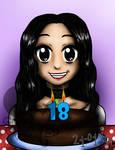 My 18th birthday!