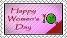 Happy women's day stamp by Eitvys200