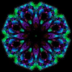 Envy Tinged Purple Rose (Transparent Background) by Etothetaui