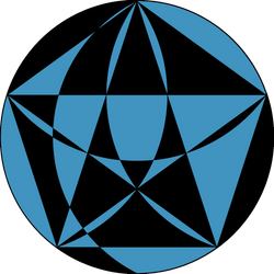 Construction of Pentagram by Etothetaui