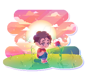 A little pixel art of Steven and a rose~ Lovin' the series - and I'm almost catchin' up! (c) Suhnset Please do not repost. Interested in a pixel like this? Commission me!