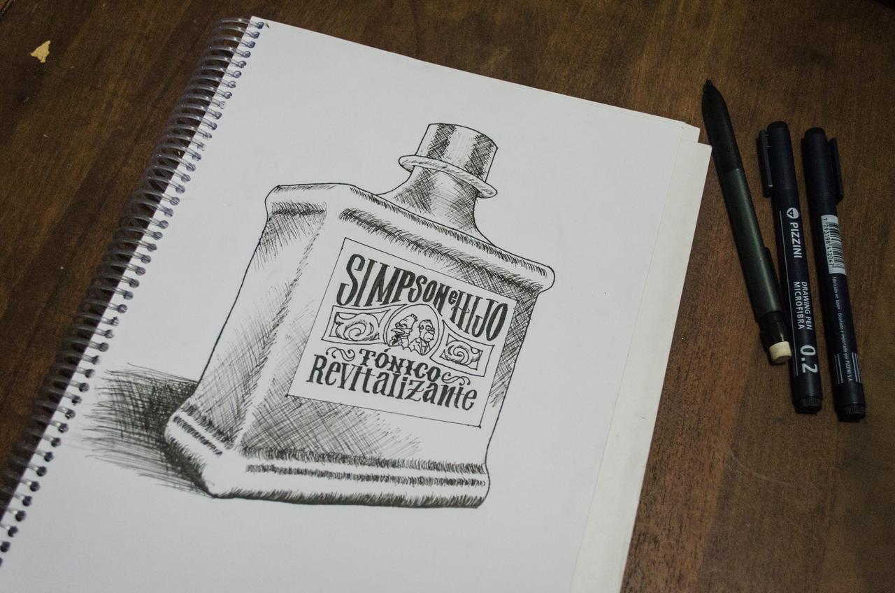 Tonico Revitalizante Simpson e HIjo by mariovogfx