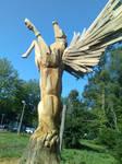 Wooden Pegasus