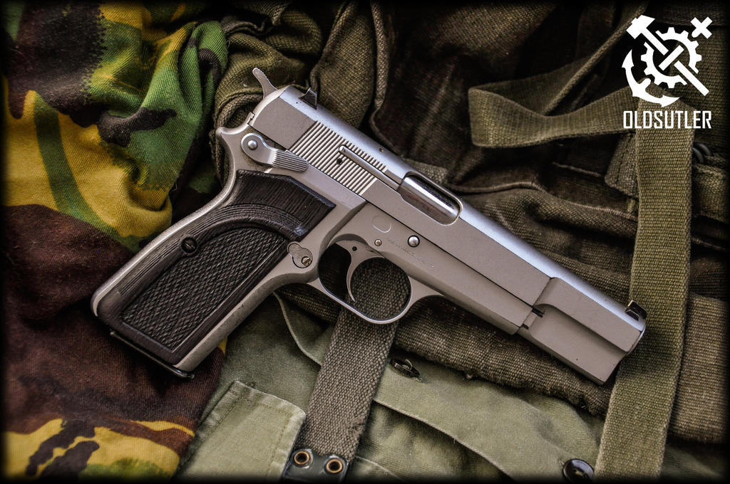 Browning High Power Custom Grips 3 By Halfdwarf