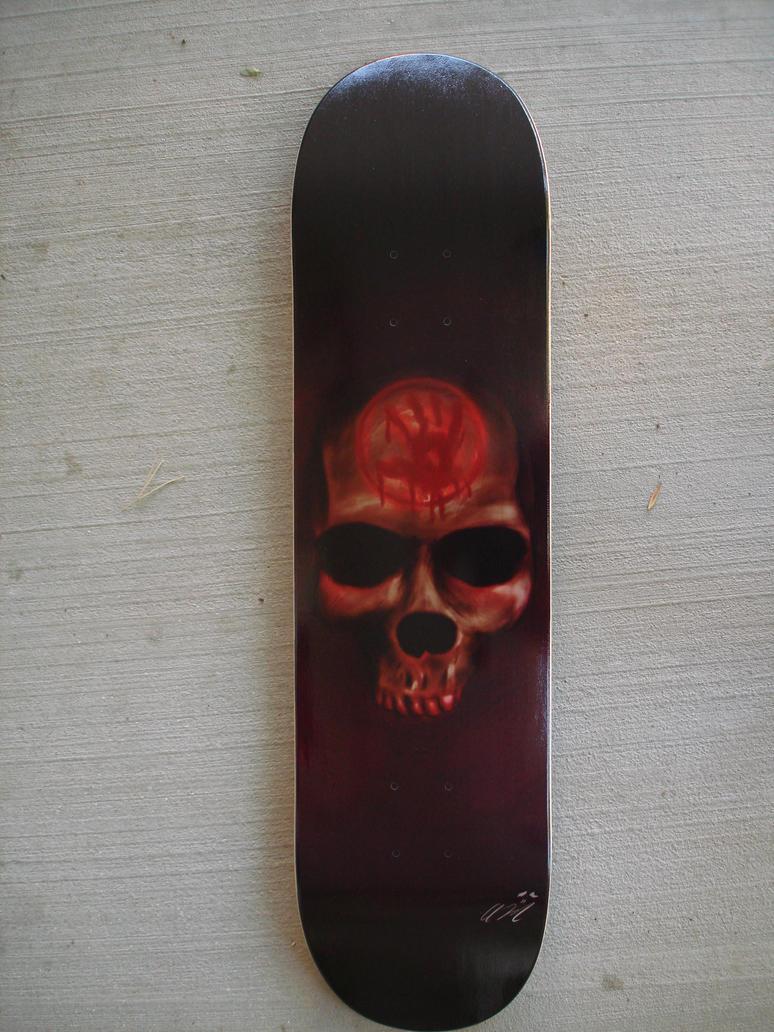 Dark Brotherhood Skateboard by odnam92