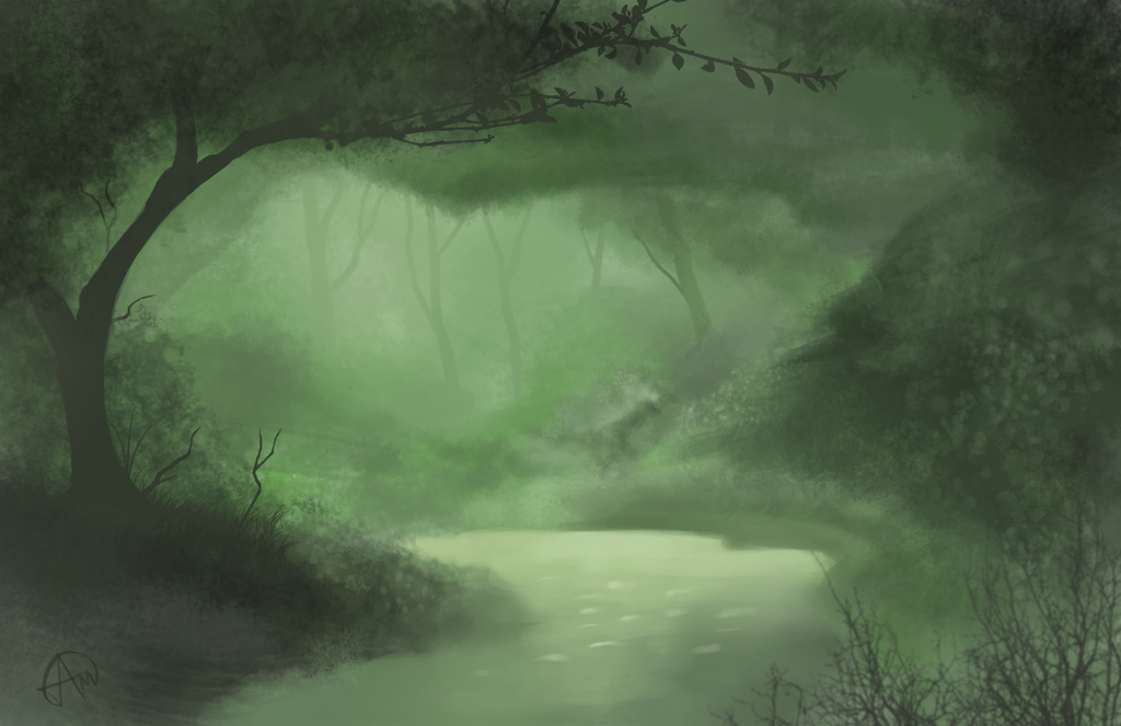 Swamp Speed Paint by odnam92