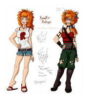 Kamiko Bakugo - BNHA next gen by unoriginaI