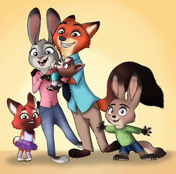 Hopps-Wilde Family Photo by unoriginaI