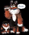 Booster - Diamond Dog OC