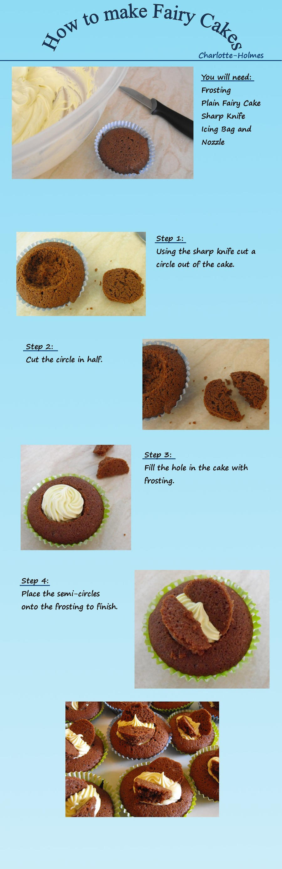 Butterfly Cake Tutorial by Lotte-Holmes