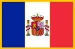 Flag of the Kingdom of Franco-Hispania