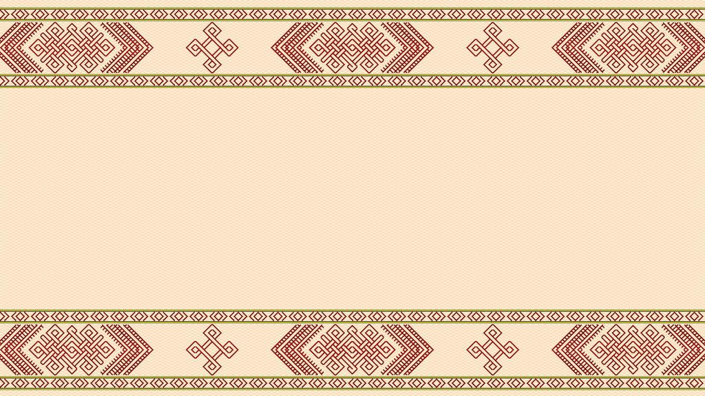Tablet weave - Nordic knotwork 01 - Beige by RelativelyAncient