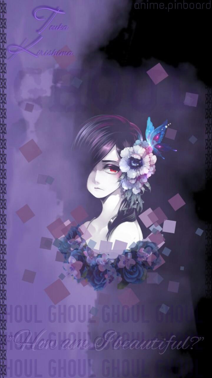 Touka [Tokyo Ghoul] Wallpaper (SG S4 mini) by SayumiIchikawe