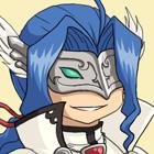 Bleu Blanc Twitter Icon by mimiru