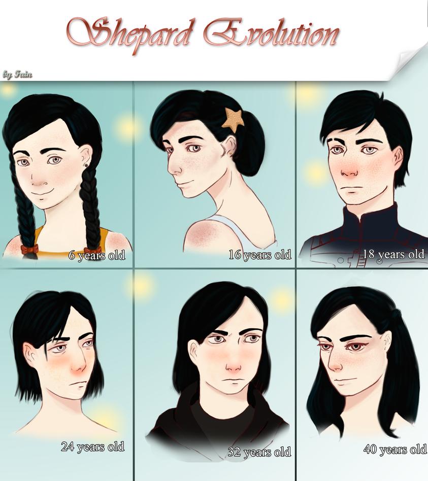 Shepard Evolution by LetagyDream