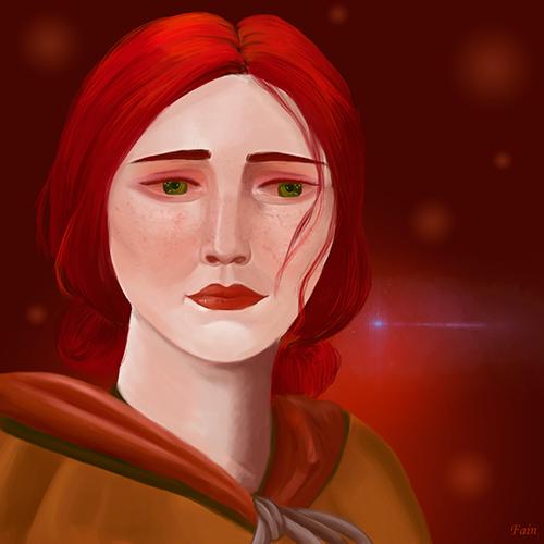 Triss Merigold by LetagyDream