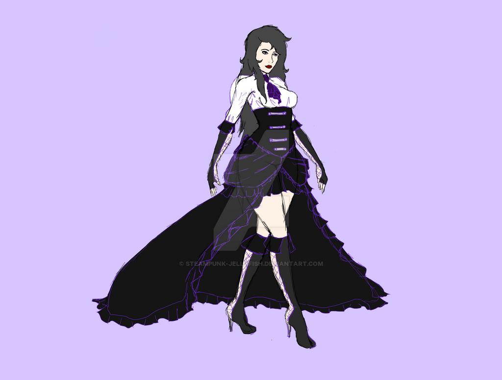 Scarlet New Design Flat by Steampunk-Jellyfish