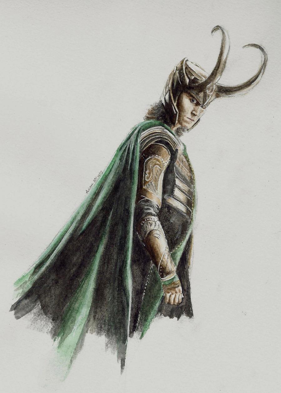 Loki Laufeyson by Auri3