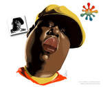 Notorious B.I.G. Caricature (Gtoon)