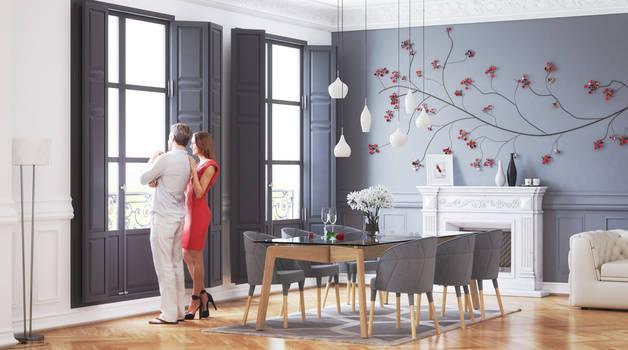 Ricardo Godinho - Dining Room Visualization