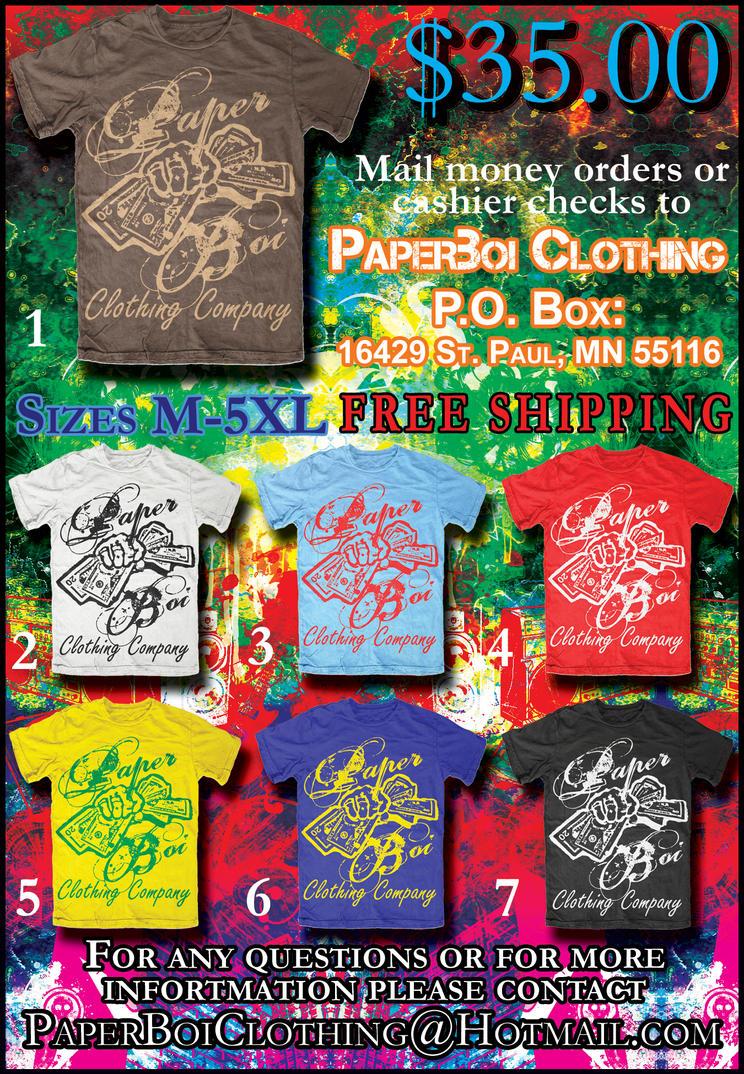 Paper Boi Clothing Flyer By Xxxlayxlowxxx On Deviantart