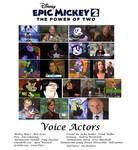 Epic Mickey 2 : The Power of Two voice actors