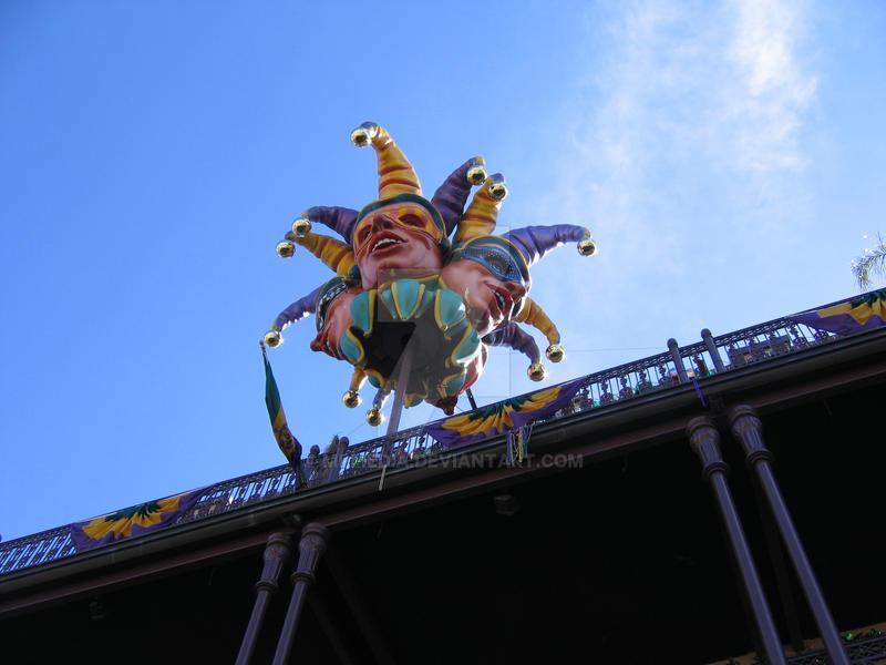 Mardi Gras Jester by MPMedia