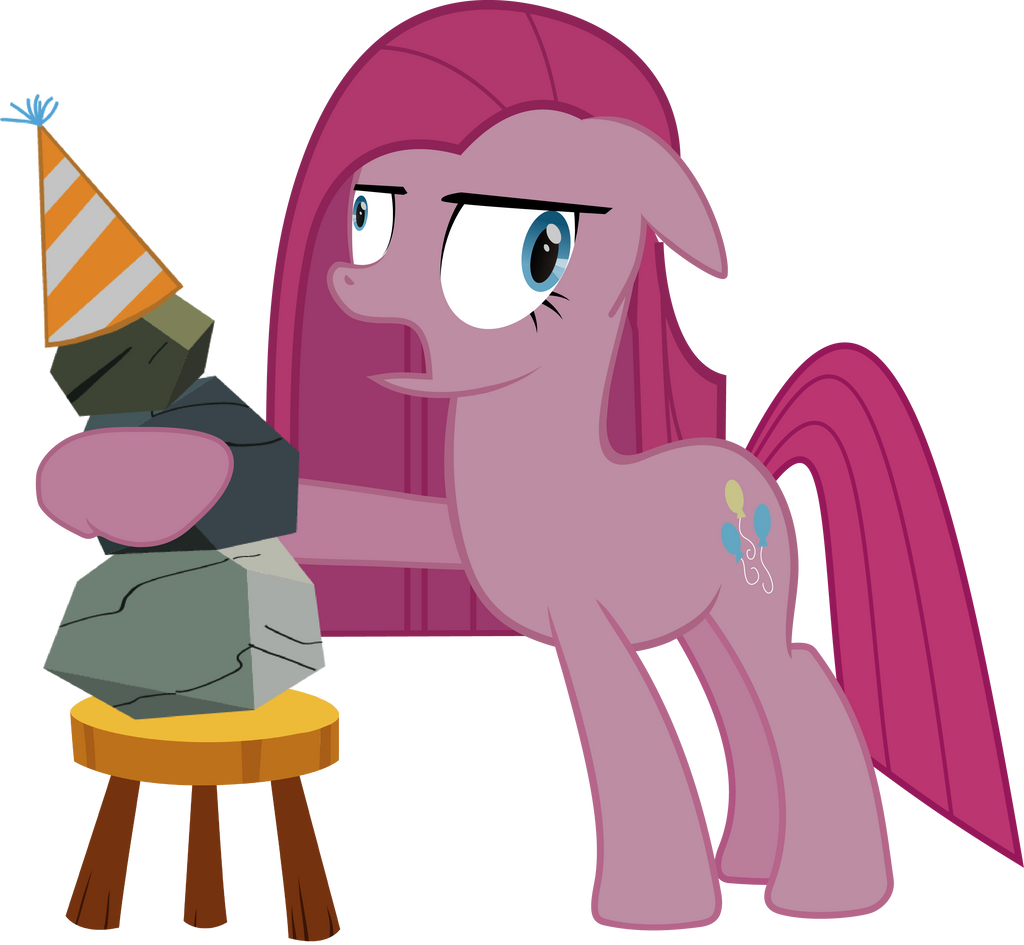 Pinkamena My Friend Rocky By J5a4 On DeviantArt