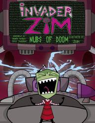 invasor zim  Nubs Of Doom cover by J5A4