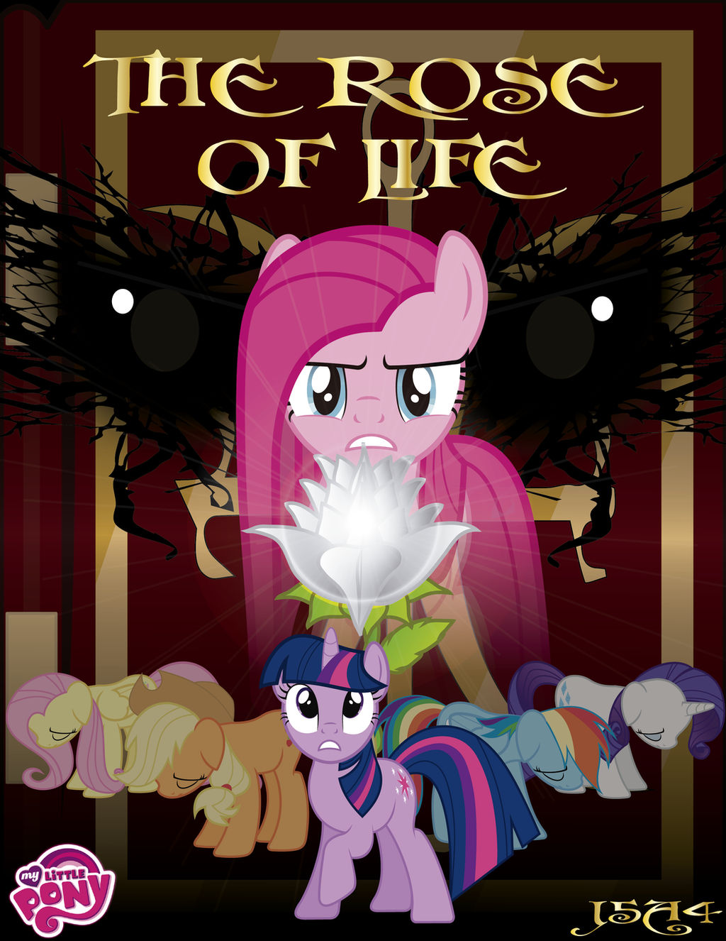 MLP The Rose Of Life cover