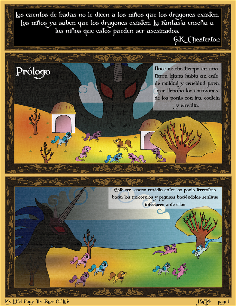 MLP The Rose Of Life pag 1 by j5a4