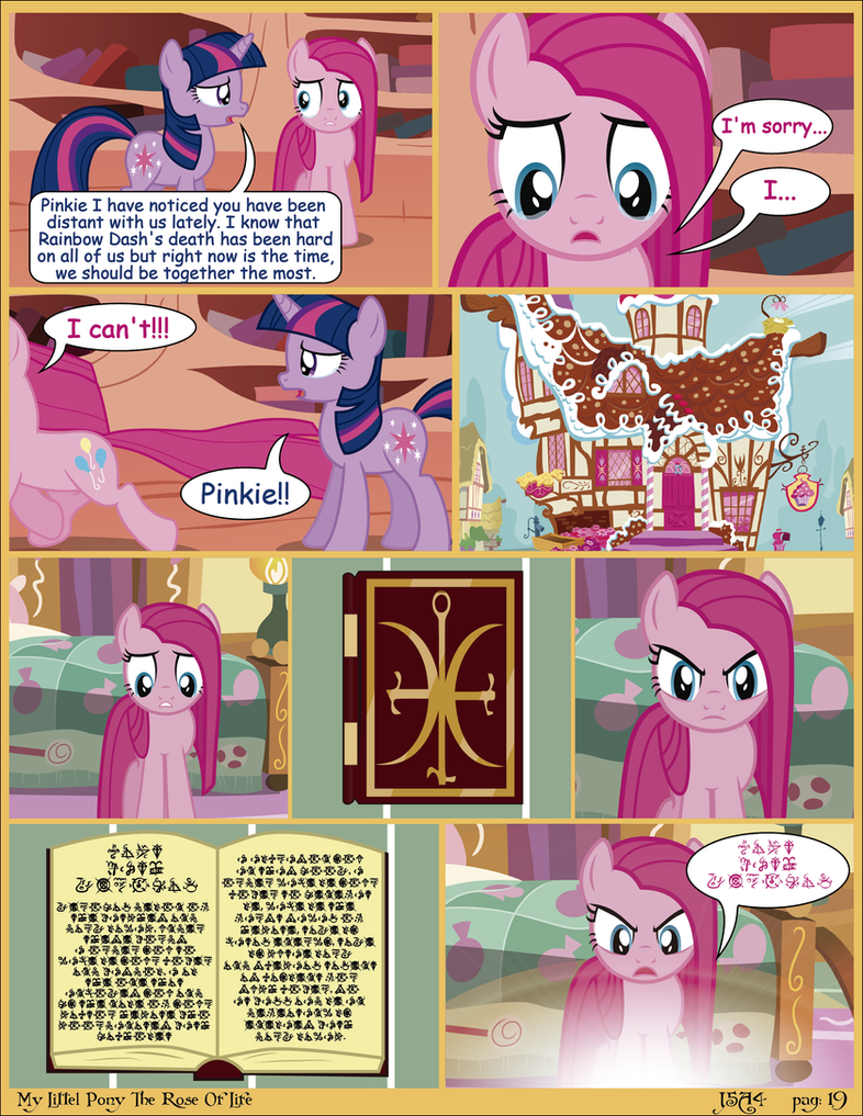 MLP The Rose Of Life pag 19 (English) by j5a4