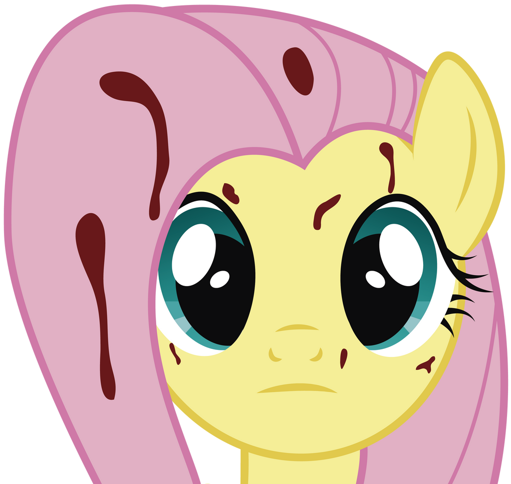 Fluttershy (the Rose Of Life) Face By J5a4 On DeviantArt