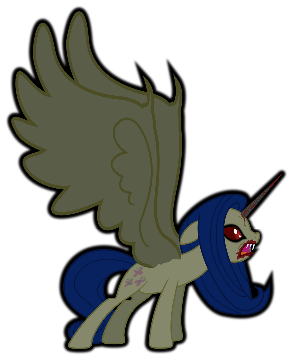 Demonic Alicorn By J5A4 On DeviantArt