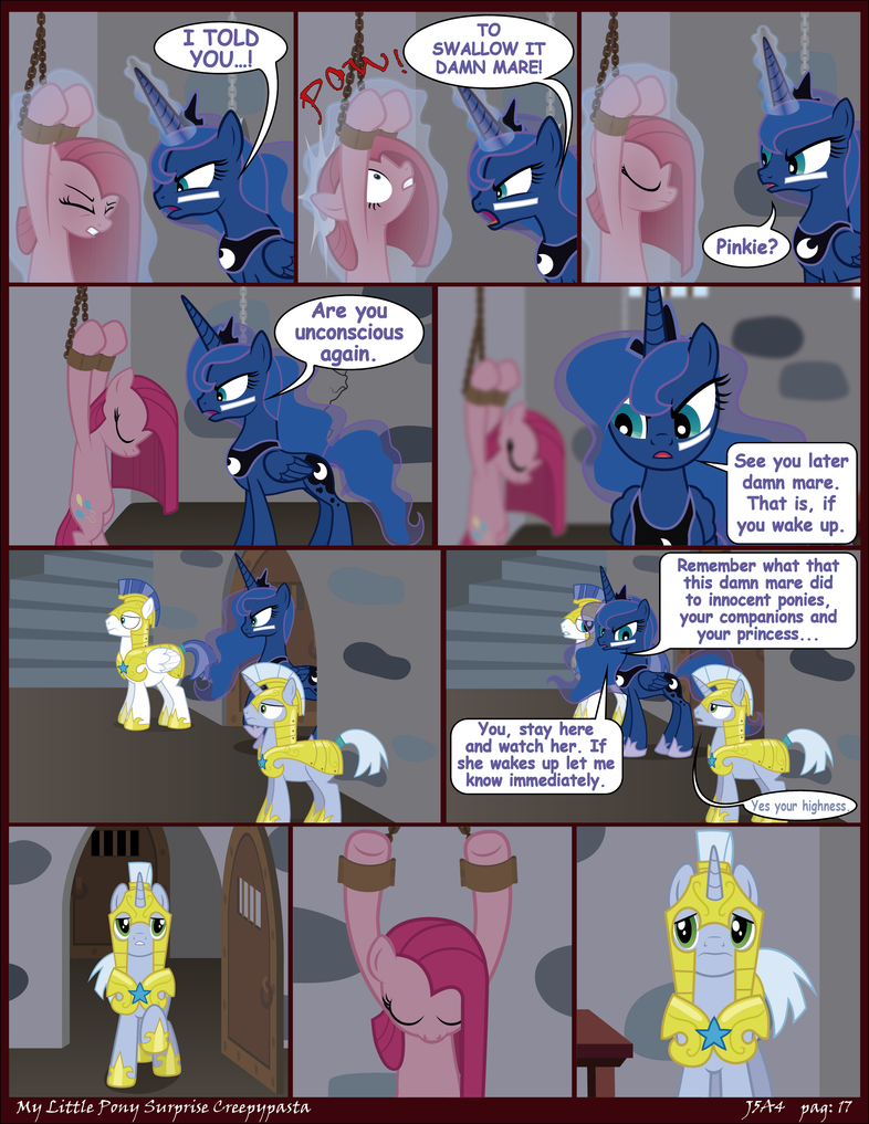 MLP Surprise Creepypasta pag 17 (English) by J5A4