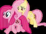 Pinkie and Fluttershy - WDA (When Demons Awake)