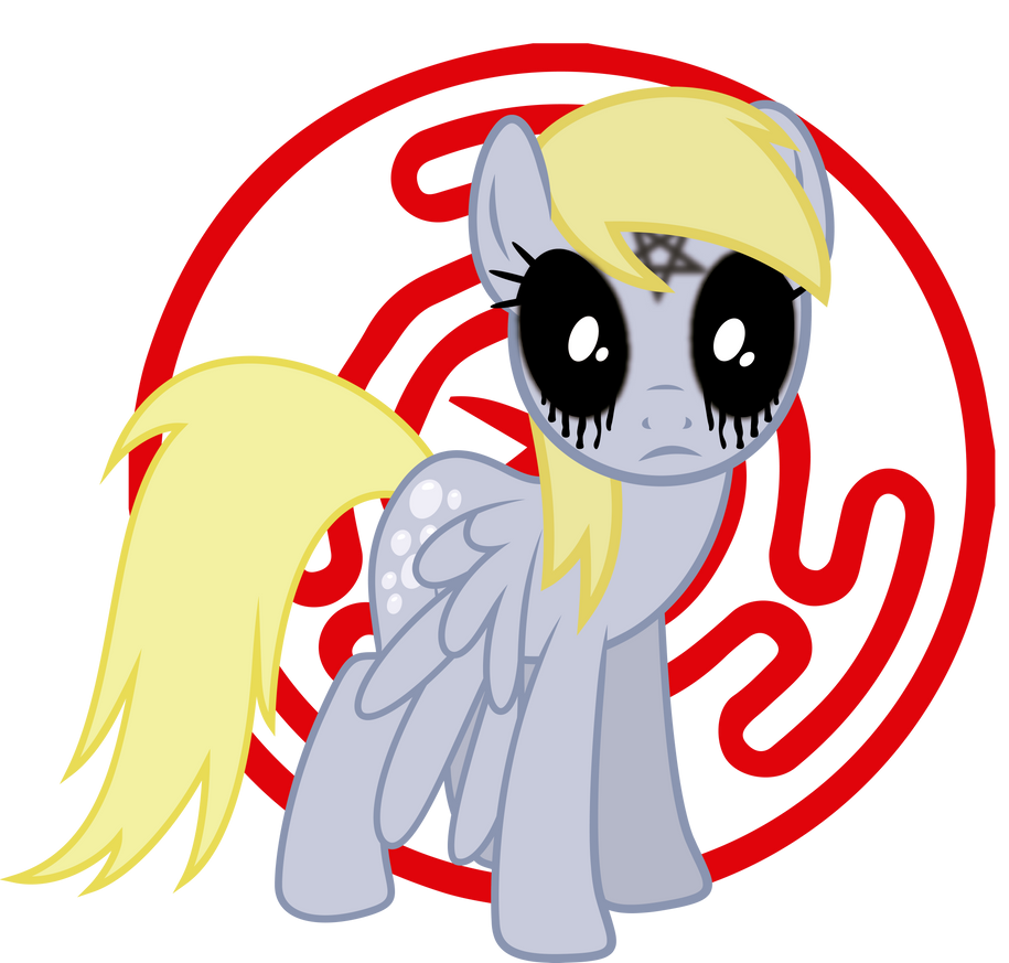Derpy Possessed (When Demons Awake Comic) By J5A4 On