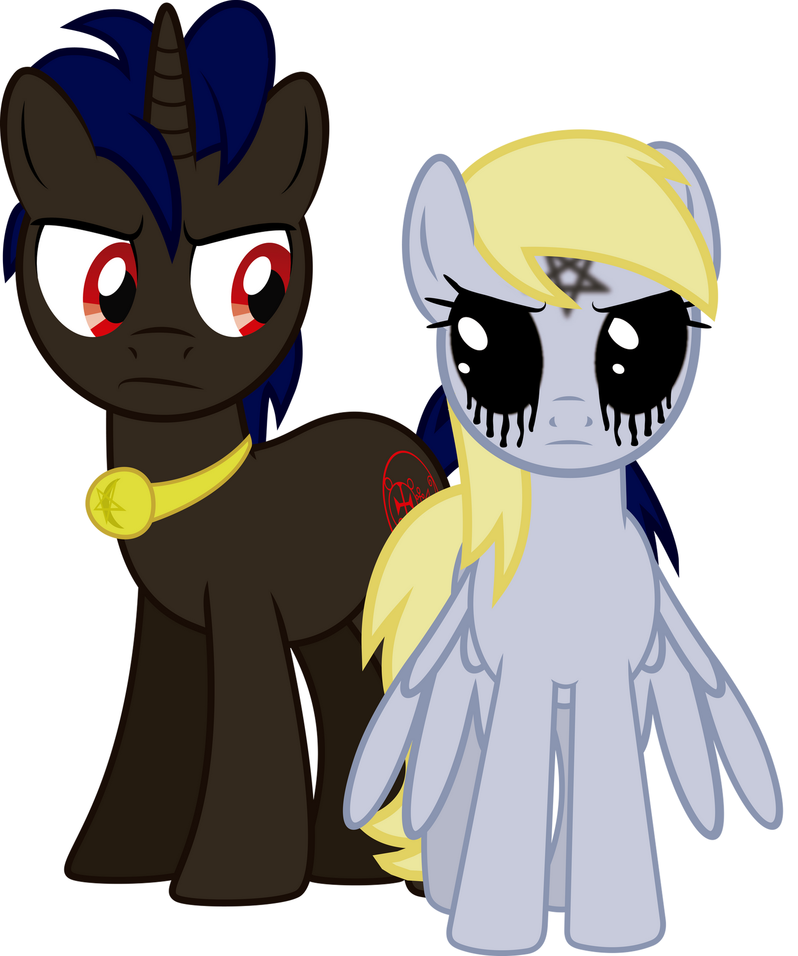 Amdusias And... Derpy? By J5A4 On DeviantArt